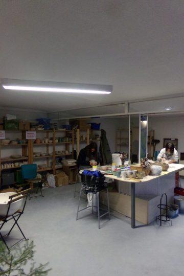 Töpferkurs und töpfern in der offenen Werkstatt
