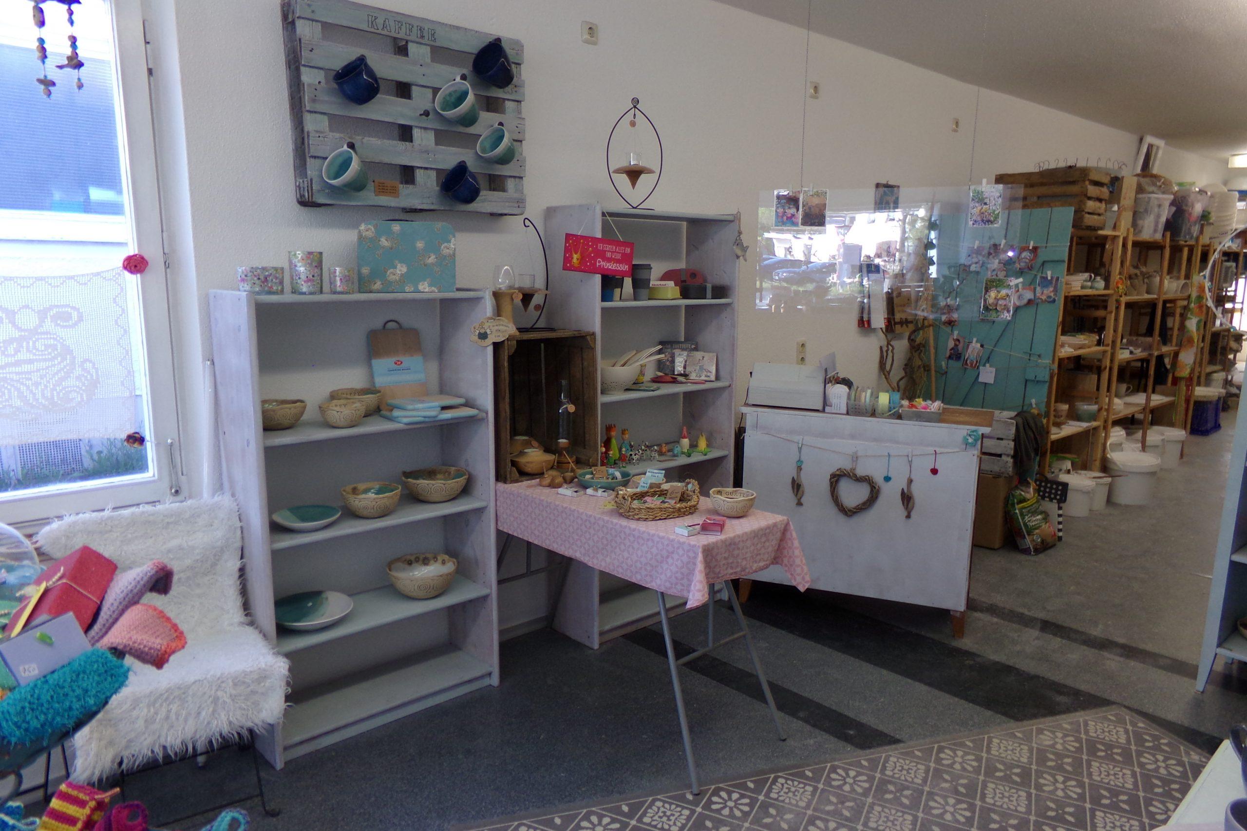 Laden und Töpferwerkstatt in Trostberg